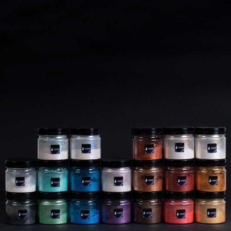 Перламутровые красители для эпоксидных смол / епоксидних смол