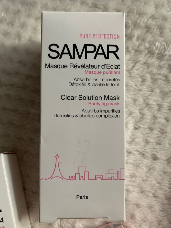 Sampar clear solution mask Warszawa - image 1