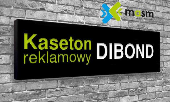 Kaseton Reklamowy DIBOND LED 135x50 cm PRODUCENT
