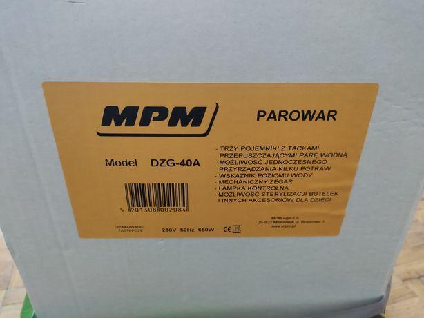 Parowar MPM nowy DZG-40A