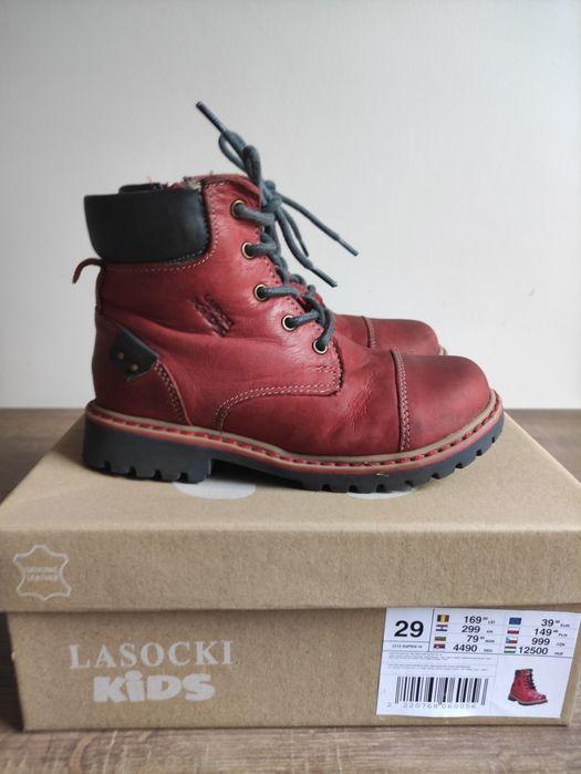 Śliczne buty zimowe kozaki Lasocki Siemianowice Śląskie - image 1