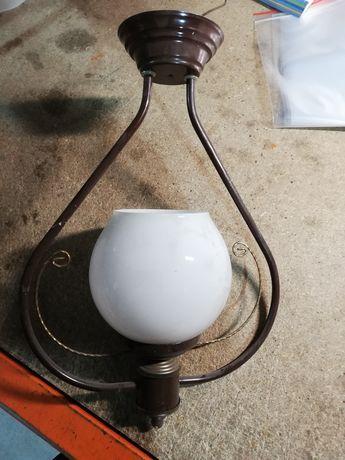 Żyrandol metalowy wiszący