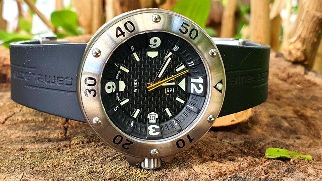 Relógio Camel Trophy série limitada black