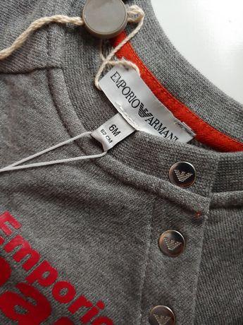 Emporio Armani nowy dres r.62 komplet orginalny