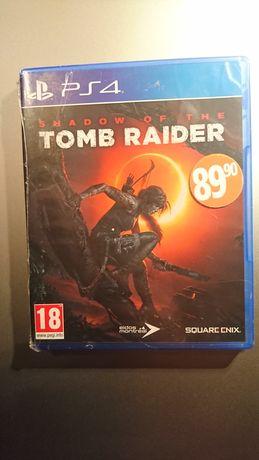 Nowe folia Tomb Raider ps4