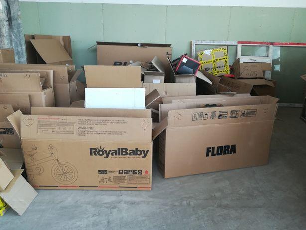 Ящики, коробки картонные разного размера
