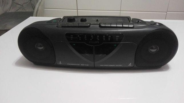 Sprzedam radiomagnetofon PHILIPS dwu kasetowy taki jak na foto i