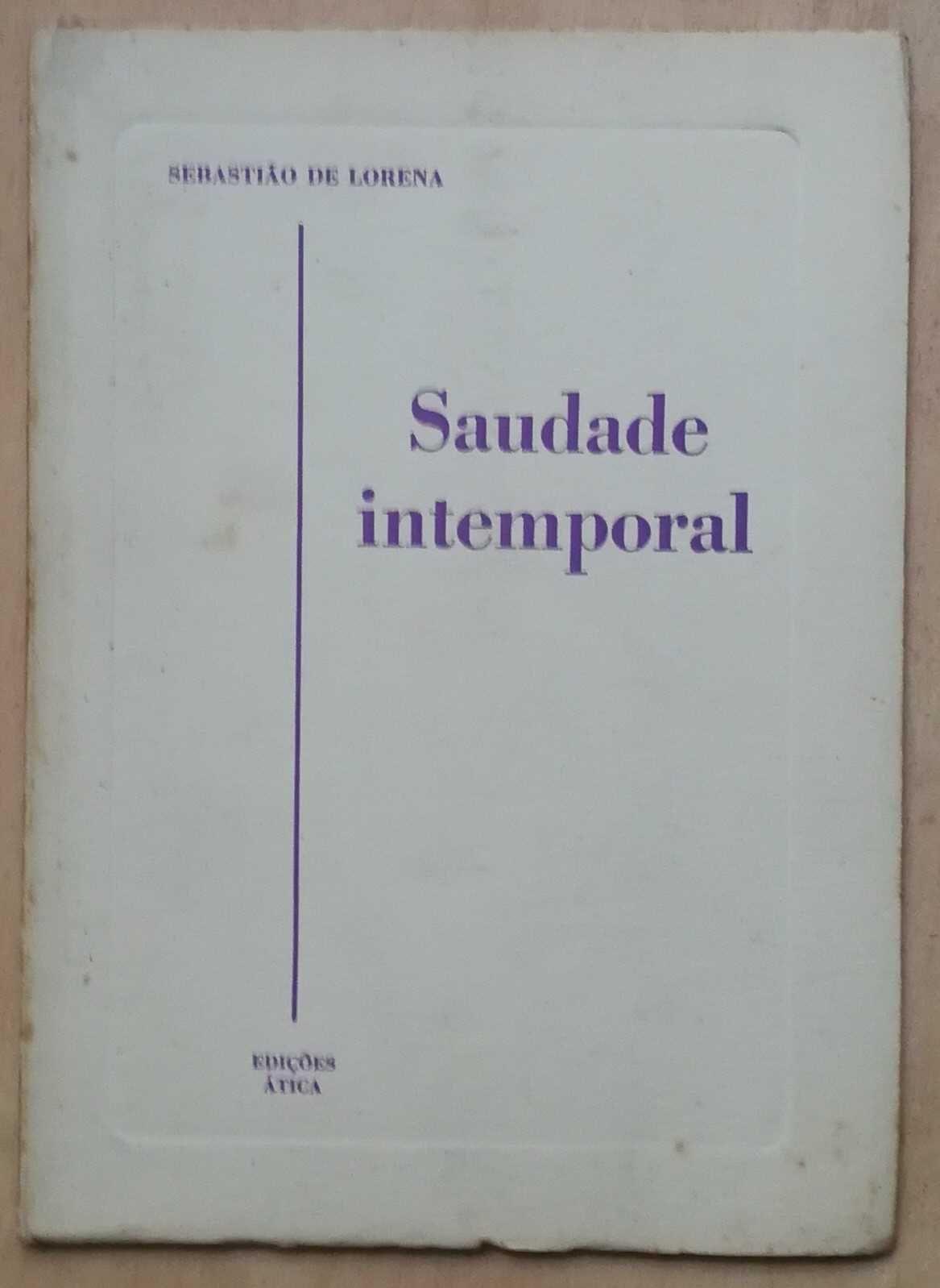 saudade intemporal, sebastião de lorena, edições ática