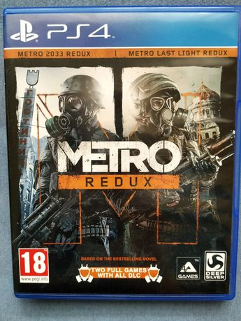 METRO REDUX PL PS4 - dwie gry