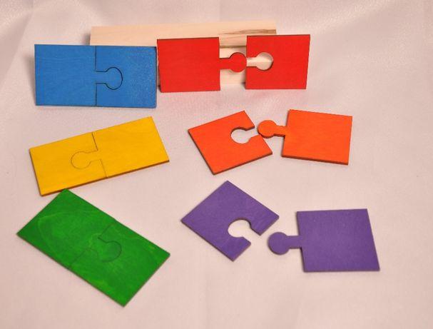 Pierwsze puzzle Montessori