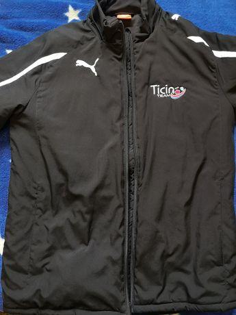 Куртка ветровка утеплённая, подростковая фирмы Puma