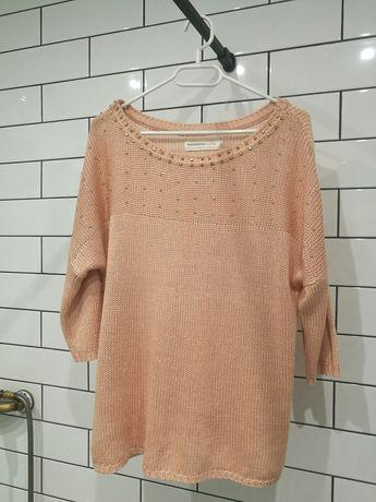 Sweter reserved L łososiowy