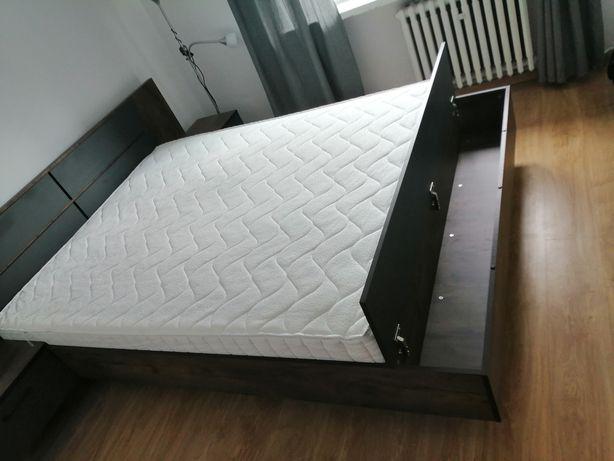Sprzedam łóżko sypialniowe z materacem