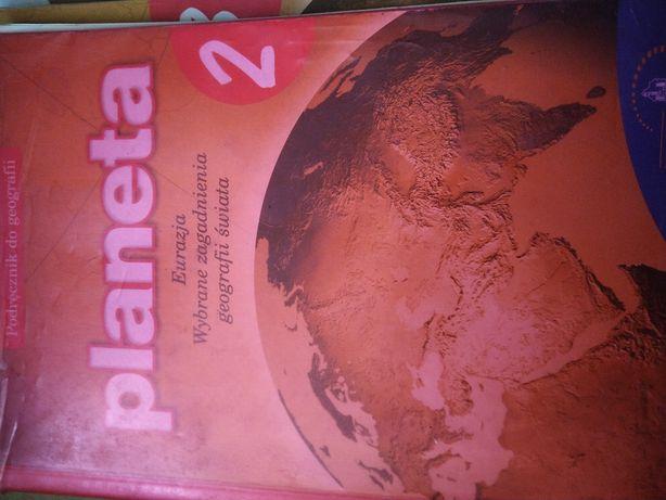 """Podręcznik do geografii """"planeta"""" gimnazjum, kl. 2"""