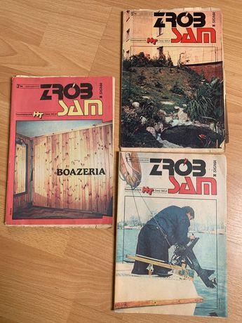 Czasopismo Zrób to sam, dwumiesięcznik 3 szt - 3/88, 5/88 oraz 1/89