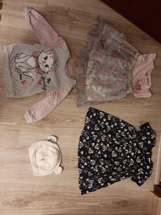 Ubranka dla dziewczynki rozm 86 Gniezno - image 1