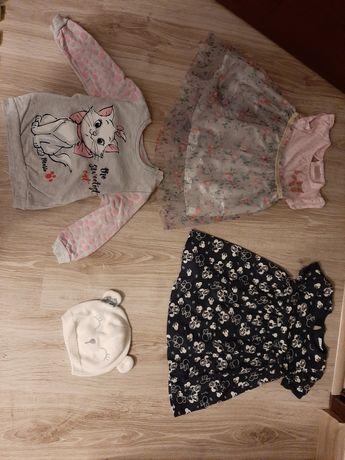 Ubranka dla dziewczynki rozm 86