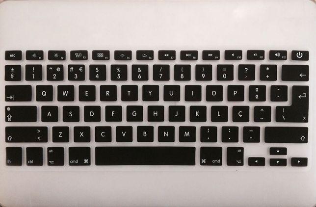 proteção para teclado MacBook