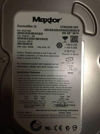 Жосткий диск на 320 GB , 7200 RPM