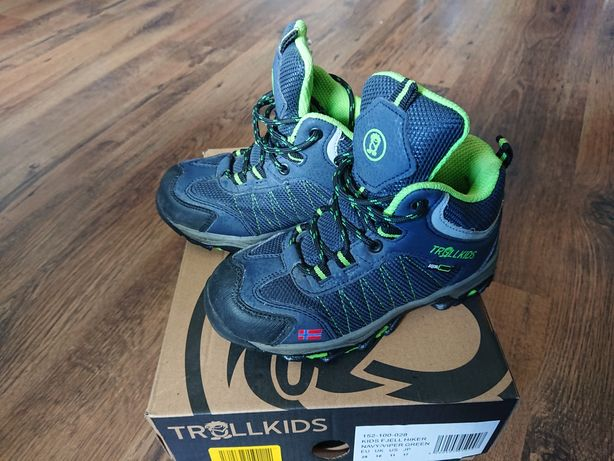 Trollkids buty turystyczne JAK NOWE !!!
