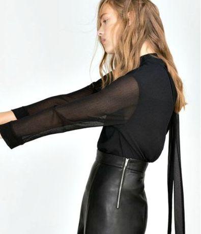 Блуза Zara. Рубашка. Туника. Платье