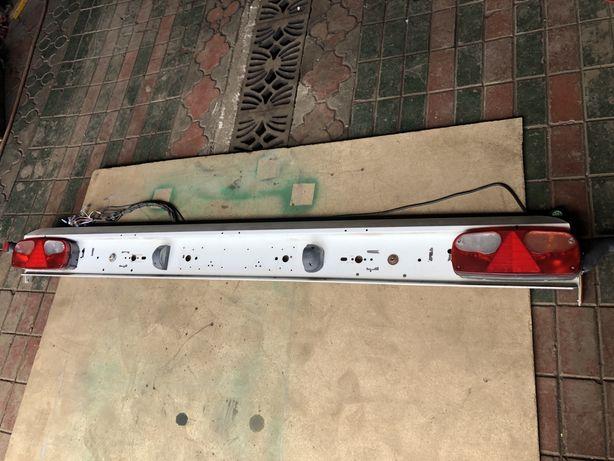 KRONE бампер з фонарями и проводкой Кроне
