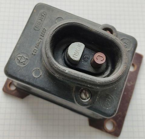 Пусковая кнопка ПНВ 30У2 / 10 А / 380 В