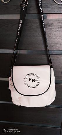 Nowa biała torebka FB