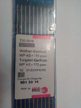 elektrody wolframowe TIG zielone 4,0 * 175