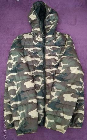 Милитари/зимняя куртка Angelo Litrico Woodland/оригинал/размер XL