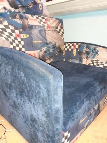 Fotel rozkładany tapczan Formuła 1