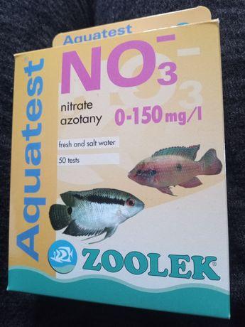 Test no3 zoolek azotany woda akwarium nowy