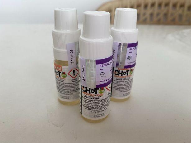 NicShot - Nicotina selado (3 unidades)