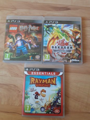 Bakugan Defenders of the core Rayman Origins na Ps3