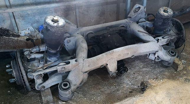 Eixo traseiro pneumatico bmw e39 1996 a 2002