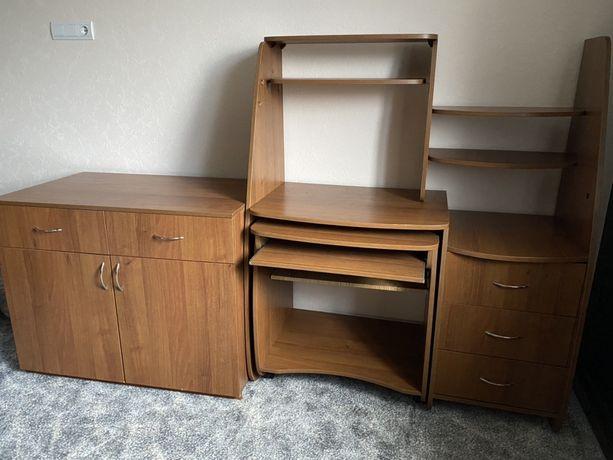 Продам стол письменный и комод МДФ