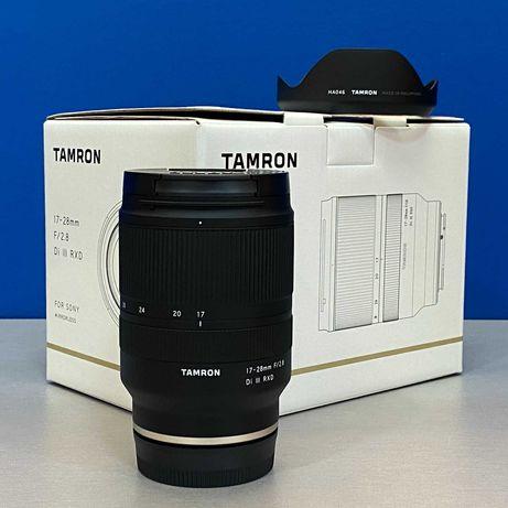 Tamron 17-28mm f/2.8 Di III RXD (Sony FE) - NOVA - 5 ANOS DE GARANTIA