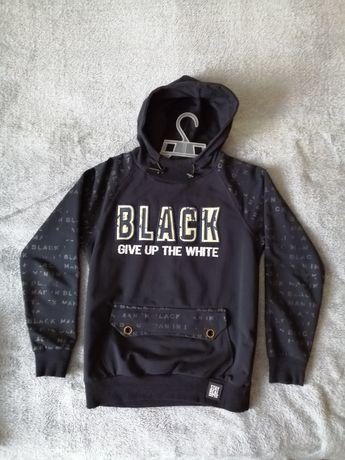 Bluza czarna dla chłopca rozmiar 152