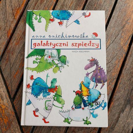 """Książka dla dzieci """"Galaktyczni szpiedzy"""""""