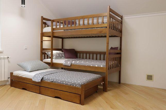 Двоярусне ліжко. Двоповерхове ліжко. Двухэтажная кровать. 80х190см