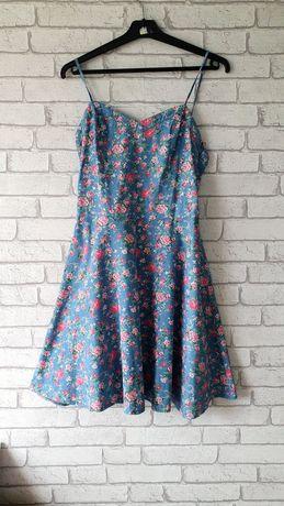 Sukienka letnia Carry roz. M cienki jeans