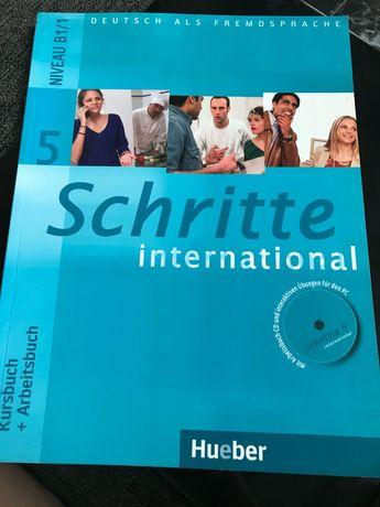Учебник SCHRITTE INTERNATIONAL 5 (B1/1) Kursbuch+Arbeitsbuch