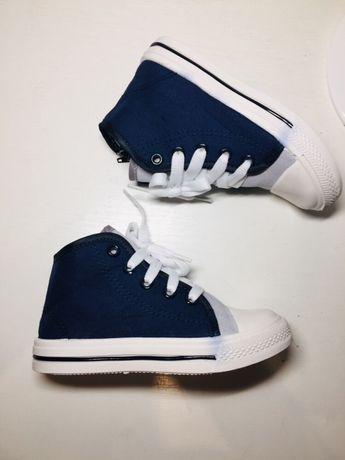 Кеды на мальчика 26 размер кроссовки синие