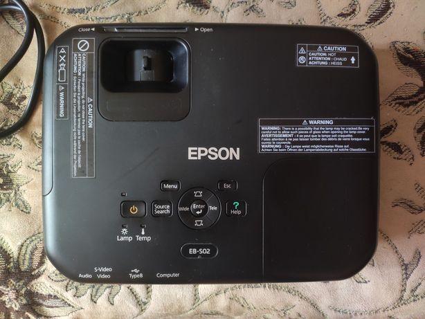 Проектор LCD Epson EB-S02 на запчасти, восстановление