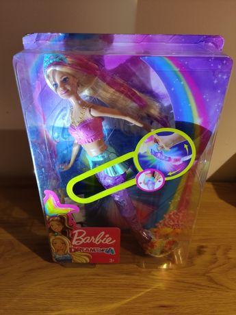 Barbie Dreamtopia Magiczna Syrenka z ogonem GFL82