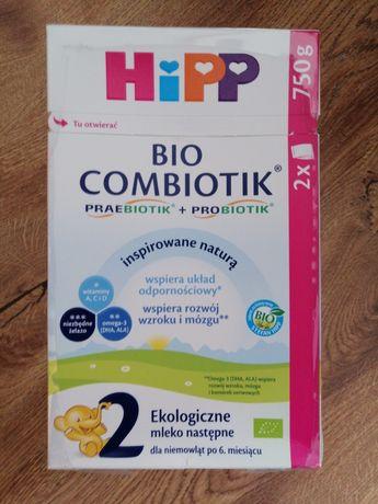 Mleko Hipp Combiotik 2, 2 szt + kaszka Bio jaglana, bezglutenowa