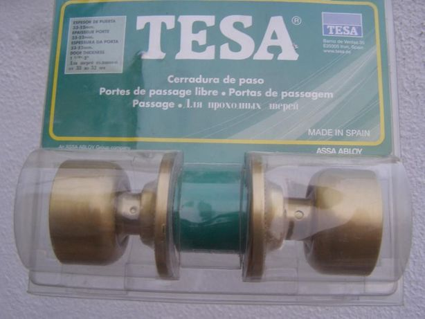 Fechadura tubular TESA nova