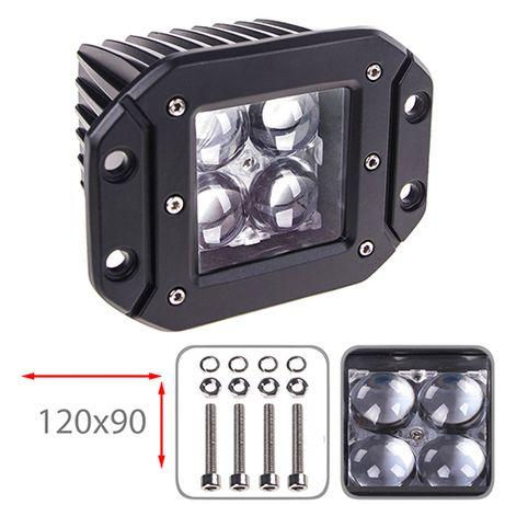 Фара прожектор LML-K1212FC-4D SPOT (4led*3w 120х90мм) (K1212FC-4D S)