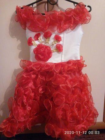 Платье карсет 3-5 лет