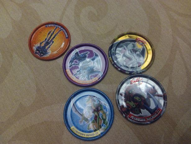 Coleção Yu-Gi-Oh! Metal Tazos (2003)